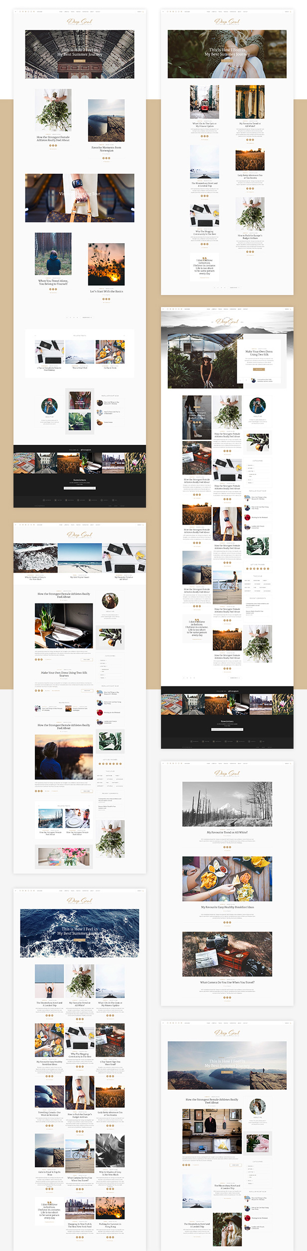 Deep Soul - Responsive HTML Blog and Shop Theme